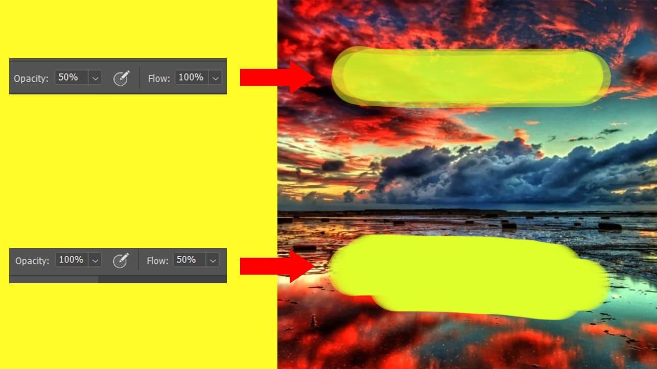 تفاوت Flow با Opacity