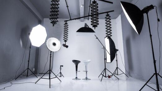 نورپردازی مناسب برای تولید محتوا